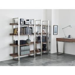 Glan Plus/グラン プラス デスクシリーズ ディスプレイラック 幅110cm デスクと合わせて使えば周りにも自慢できるワンラック上のホームオフィス空間が実現します。