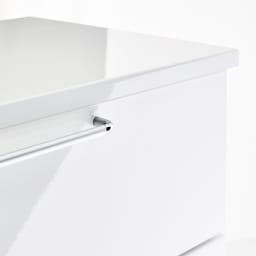 Muro/ムーロ ホワイトモダンチェスト 幅110cm 5段