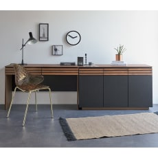 AlusStyle/アルススタイル 薄型ホームオフィス デスク 幅120.5cm 写真