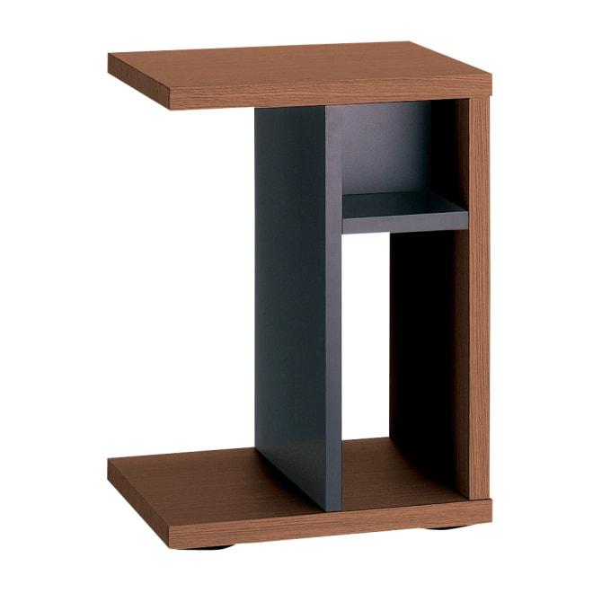Piezza  移動自在キャスター付きサイドテーブル 本棚(書棚)として本やA4サイズの雑誌も収納可能です。