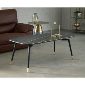 Raamine/ラミネ セラミックトップ・リビングテーブル 写真