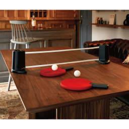 PONGO/ポンゴ ポータブル卓球セット・テーブルテニスセット [umbra・アンブラ] プライベートラウンジで大人が愉しむ「グラマラスな卓球」というハウススタイリングの新提案