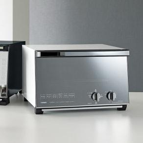 ミラーガラス オーブントースター レギュラーサイズ 写真