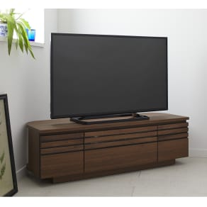 Remonte/ルモンテ 隠しキャスター付きコーナーテレビ台 幅120.5cm 写真