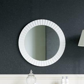 PHILOS/フィロス エレガントシリーズ 円形ウォールミラー・丸型壁掛けミラー 径60cm 写真
