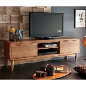PHILOS/フィロス 北欧デザインシリーズ テレビ台・テレビボード 幅150cm 写真