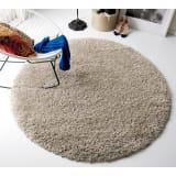 トルコ製 Marika/マリカ ミックスシャギーラグ 円形 約径160cm 写真