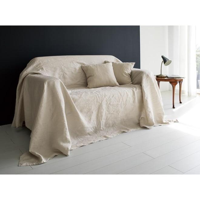 French Linen/フレンチリネン カバーリング マルチカバー