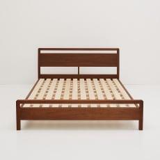 MARK/マーク 木製ベッド ウォルナット ベッドフレームのみ