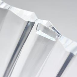 Sparkle/スパークル サイドテーブル  [Kartell/カルテル デザイン:吉岡徳仁] フタには突起があり、本体に置いた時にずれません