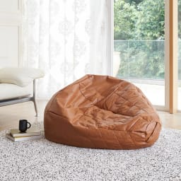 DropII/ドロップ モダンビーズクッション 一人掛けのソファとしても