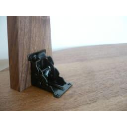 折れ脚コミュニケーションローテーブル 幅120cm 折れ脚金具