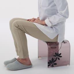 Sarina/サリナ アクリル製バスチェアM コンパクトなMから、立ち座りのラクなLLまで。