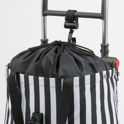 ROLSER/ロルサー ショッピングカート 4輪カート+保冷・保温付きバッグ 巾着式で上までたっぷり。