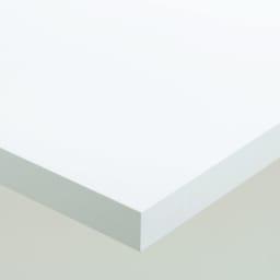 Multi マルチダイニングテーブル ウッドレッグタイプ 幅180cm 素材アップ:ホワイト 落ち着いた光沢のホワイト