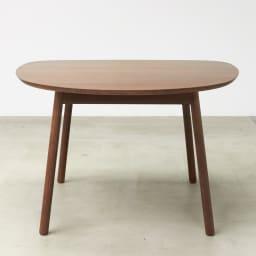 cobrina/コブリナ オーク天然木 ダイニングテーブル 幅111cm 奥行100cm ブラウン