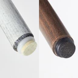 アンティーク風のNO.60スツール[チェコ TON社] 脚部の先端は、プラスチック+硬質フェルト。