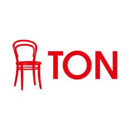 アンティーク風テーパーダイニングテーブル 正方形テーブル幅80cm×80cm[チェコTON社製] 152年以上の歴史を紡ぐ、グローバルな曲げ木家具メーカー