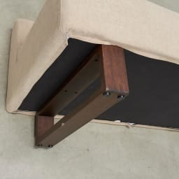 BIS/ビス リビングダイニングシリーズ テーブル119cmセット ソファ脚部アップ
