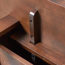 BIS/ビス リビングダイニングテーブル 幅119cm  テーブル裏面