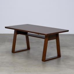 BIS/ビス リビングダイニングテーブル 幅119cm  テーブル斜めから