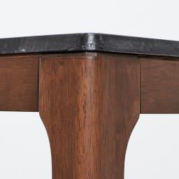 Elusso/エルーソ 石目調ダイニングテーブル 幅135cm