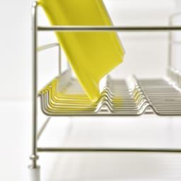 UTAU/ウタウ 皿が縦にも横にも置ける水切り ロング