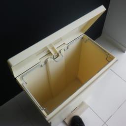 Kcud クード ダストボックス 容量39L ペールトーンワイド