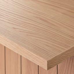 VineII/ヴィネ2 アイランドカウンターオークタイプ オーク天板 幅120cm オーク・ウォルナット天板(ウレタン塗装) 天然木突き板天板は、明るくナチュラルなオークとモダンなウォルナットの2色をご用意。