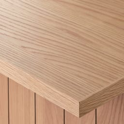 VineII/ヴィネ2 アイランドカウンターオークタイプ オーク天板 幅180cm オーク・ウォルナット天板(ウレタン塗装) 天然木突き板天板は、明るくナチュラルなオークとモダンなウォルナットの2色をご用意。