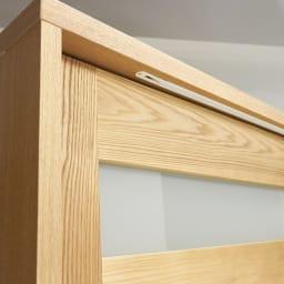 NexII ネックス2 天然木キッチン収納 キャビネット 幅140cm 角の仕上げまでこだわった日本製の食器棚です。