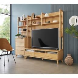 Charente/シャラント リビングボード 棚付きテレビ台 幅150cm