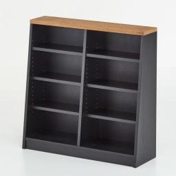 Brook/ブルック ウッドデスクシリーズ ブックシェルフ 幅90cm 天板には、北海道産のミズナラ材を採用し、素材の自然のままの風合いを活かしました。