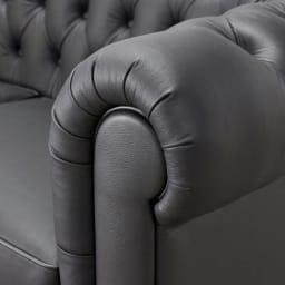 LeClass/ルクラス レザーソファ カウチソファセット 座って左カウチ