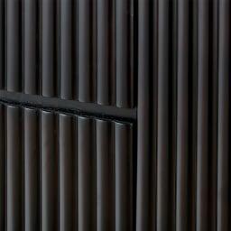 PHILOS/フィロス エレガントシリーズ 円形ウォールミラー・丸型壁掛けミラー 径60cm 前面は木の表情が楽しめる立体的なデザイン。