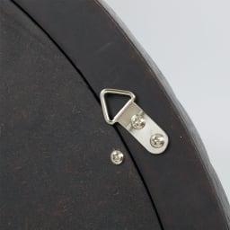 PHILOS/フィロス エレガントシリーズ 円形ウォールミラー・丸型壁掛けミラー 径60cm ミラー裏には壁掛け用の金具付き。