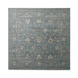 Davinci/ダヴィンチ ウィルトン織ラグ ブルーグレー (約240×240)