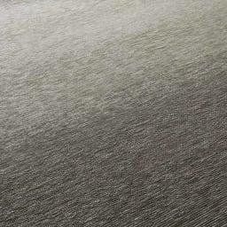Gradation/グラデーション ベルギー製シェニール織ラグ [生地アップ] グレー 光沢感があり、肌触りもしっとりなめらか。