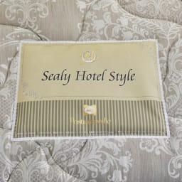 Sealy/シーリー ダブルクッションヘッドレス・マットレスベッド 長さ195cm ホテルスタイルシリーズのマットレス