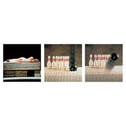 SIMMONS(シモンズ) 5.5インチポケットコイルマットレス レギュラー 睡眠中のあらゆる動きに添う「ビューティレスト」。特殊な不織布の袋にコイルスプリングをひとつひとつ包み、並行配列させたポケットコイル構造。
