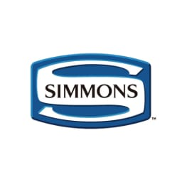 【配送料金込み 組立・設置サービス付き】【カバー付き】SIMMONS ダブルクッションベッド 5.5インチポケットマットレス