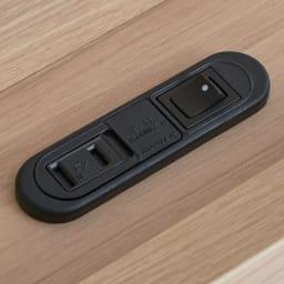 【配送料金込み 組立・設置サービス付き】【カバー付き】SIMMONS シェルフLEDベッド 5.5インチマットレス ヘッドボードのシェルフにコンセント(2口計1200W)付き。