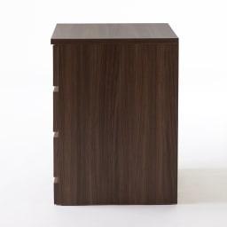Milath/ミラススライドワードローブ専用オプション インナーチェスト 隠れる側面にも柄の美しい表面材を使用し、贅沢に仕上げました。