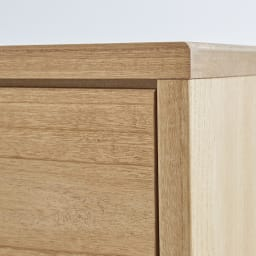 Sarasa/サラサ桐チェスト 幅100cm・4段(高さ115cm) はっきりと木目を見せる塗装で、木の素材感をより際立たせています。