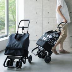 ROLSER/ロルサー ショッピングカート 4輪カート+保冷・保温付きバッグ