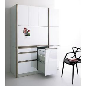 AQUA/アクア カップボード・食器棚 幅40cm 写真