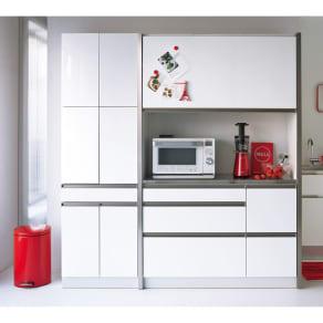 AQUA/アクア カップボード・食器棚 幅60cm 写真