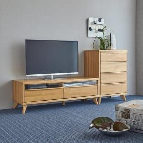 Charente/シャラント リビングボード テレビ台 幅130cm 写真