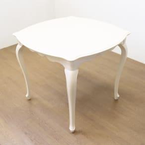 フルール ダイニングテーブル85×85 写真