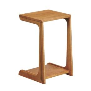 a tempo/アテンポ オーク天然木 ソファサイドテーブル 幅36cm 写真